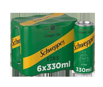 Schweppes Ginger Aisle 6x330ml