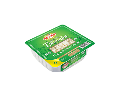 PRESIDENT COTTAGE CHEESETRADITIONAL 9% 200G