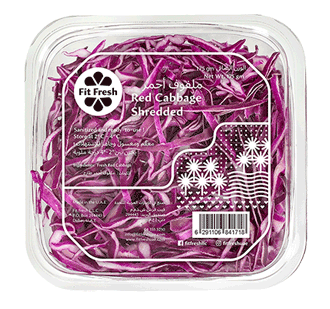 Fit Fresh Red Cabbage Shredded 175g