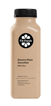 Fit Fresh Banana Smoothie 330ml