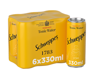 Schweppes Tonic Water 6x330ml