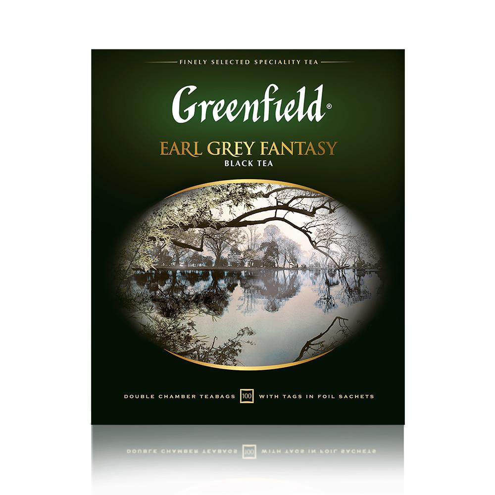 Greenfield Earl Grey Fantasy 200g (2g x 100tb)