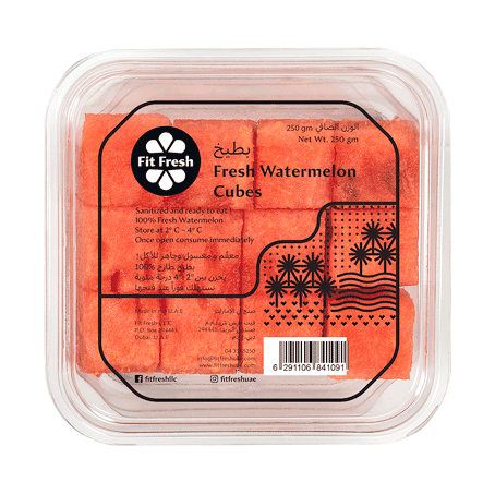 Fit Fresh Watermelon Cubes 250g