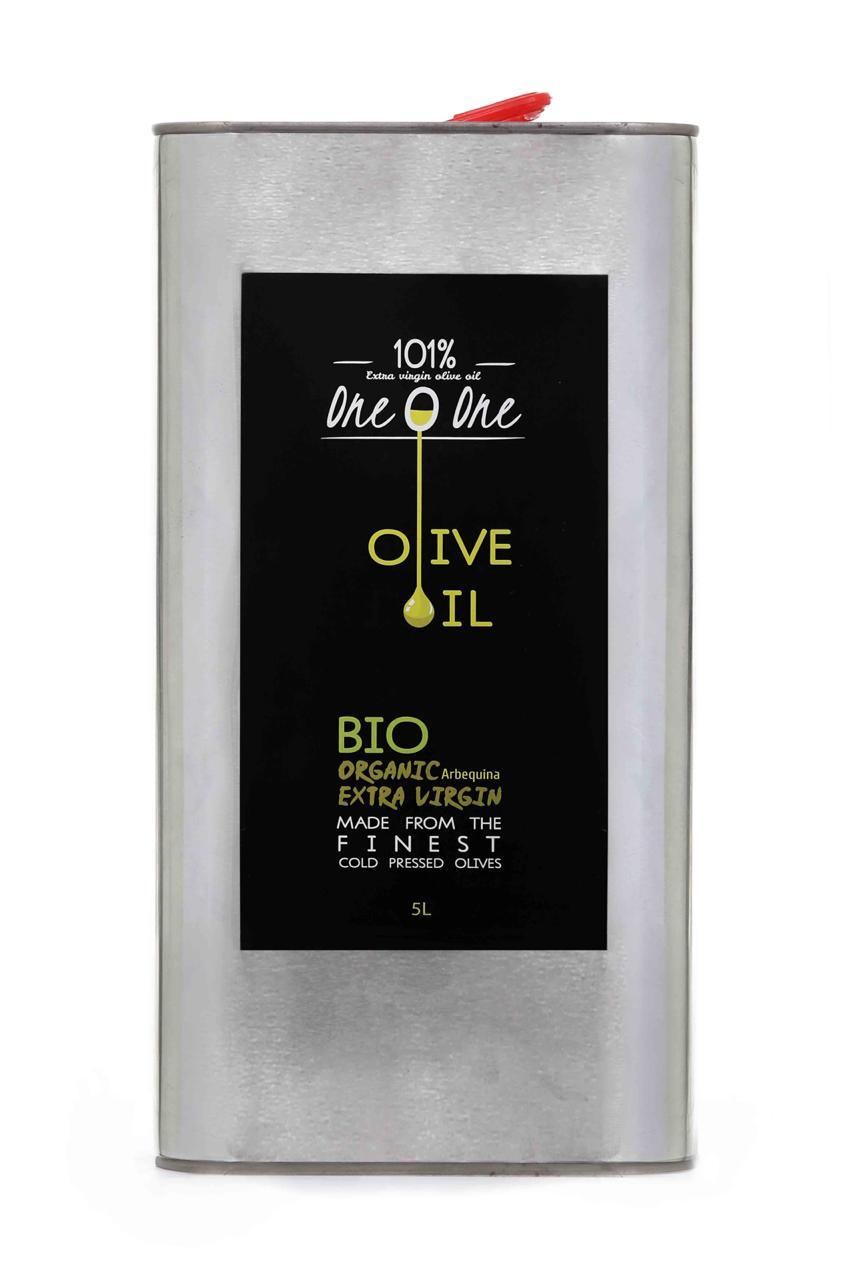 101% Bio Organic Extra Virgin Olive Oil 5L