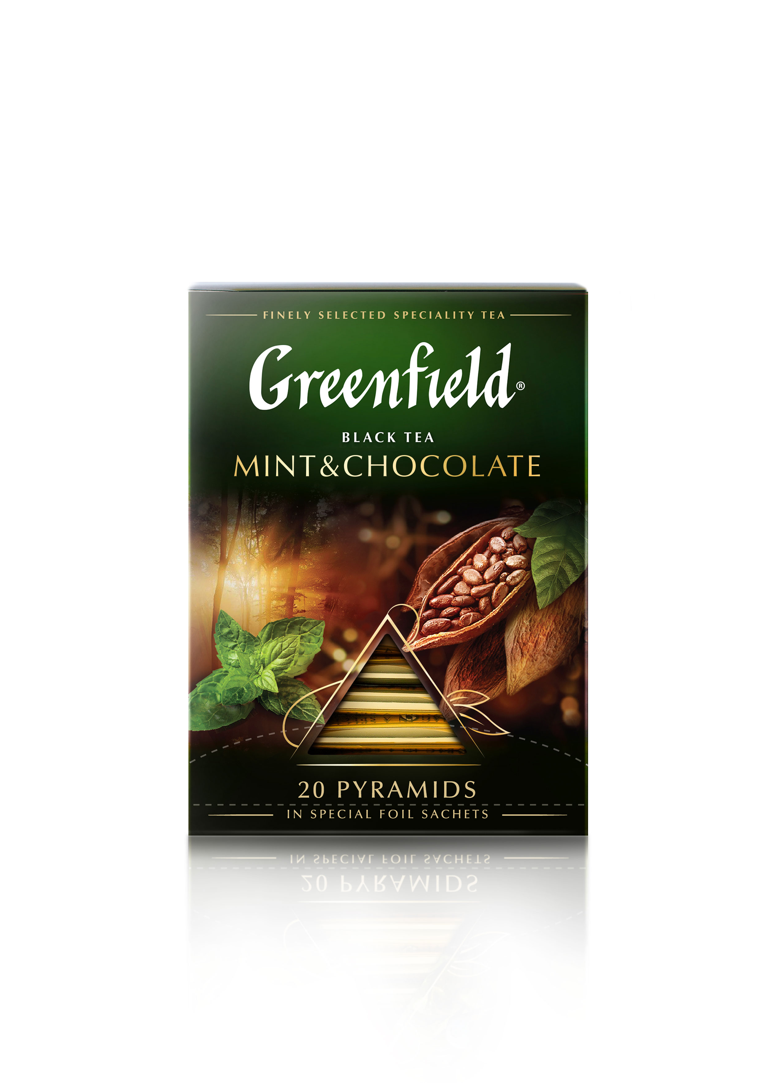Greenfield Mint&Chocolate 36g (1,8 x 20pyr)