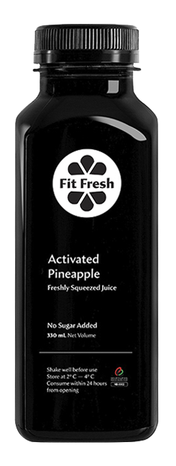 Fit Fresh Activated Pineapple 330ml