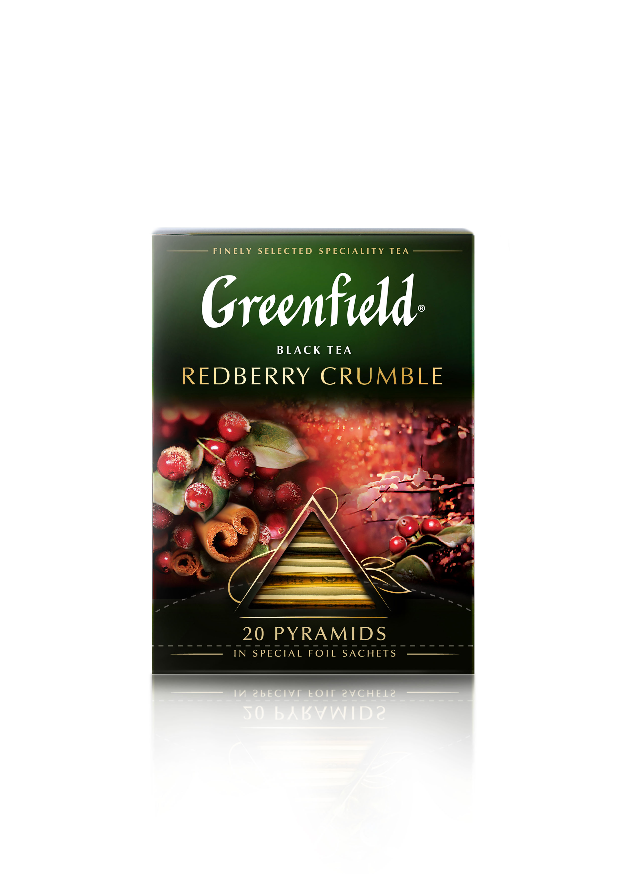 Greenfield Redberry Crumble 36g (1,8 x 20pyr)