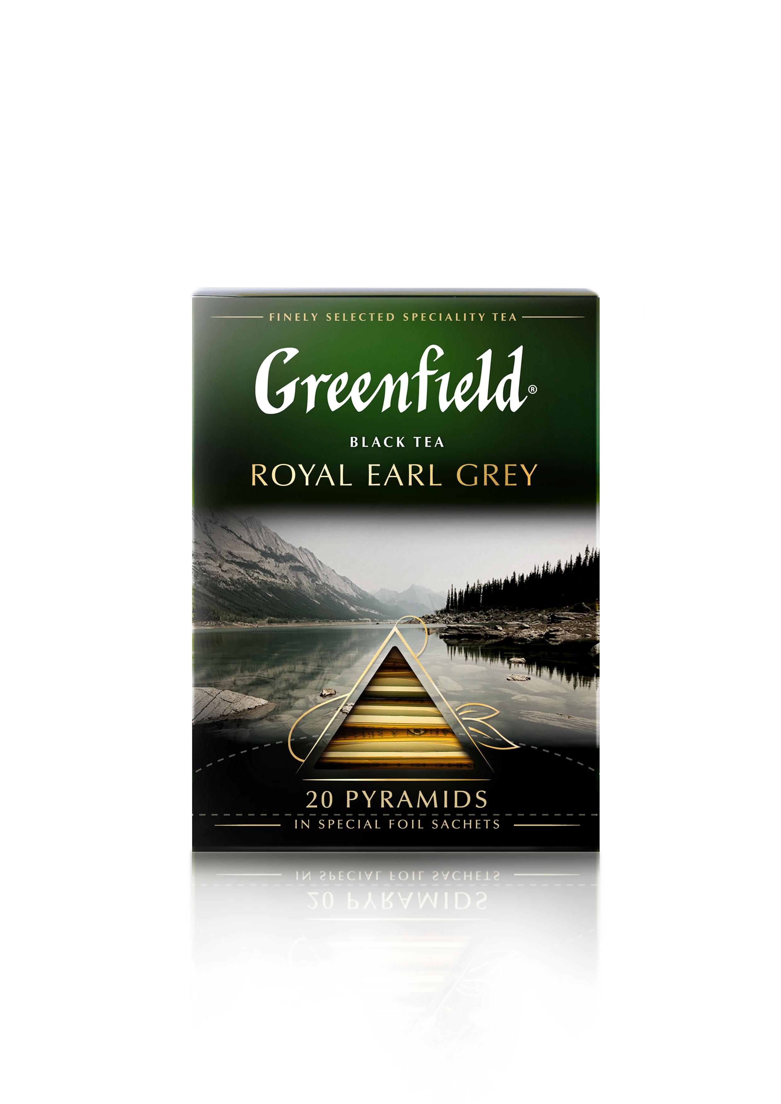 Greenfield Royal Earl Grey 40g (2g x 20pyr)