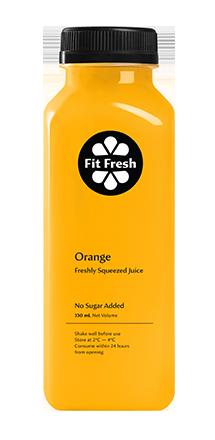 Fit Fresh Orange Juice 330ml