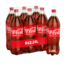 Coca Cola Regular 6x2.25l