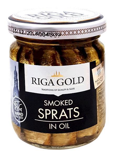 Riga Gold Sprotes Olive Oil 100gm