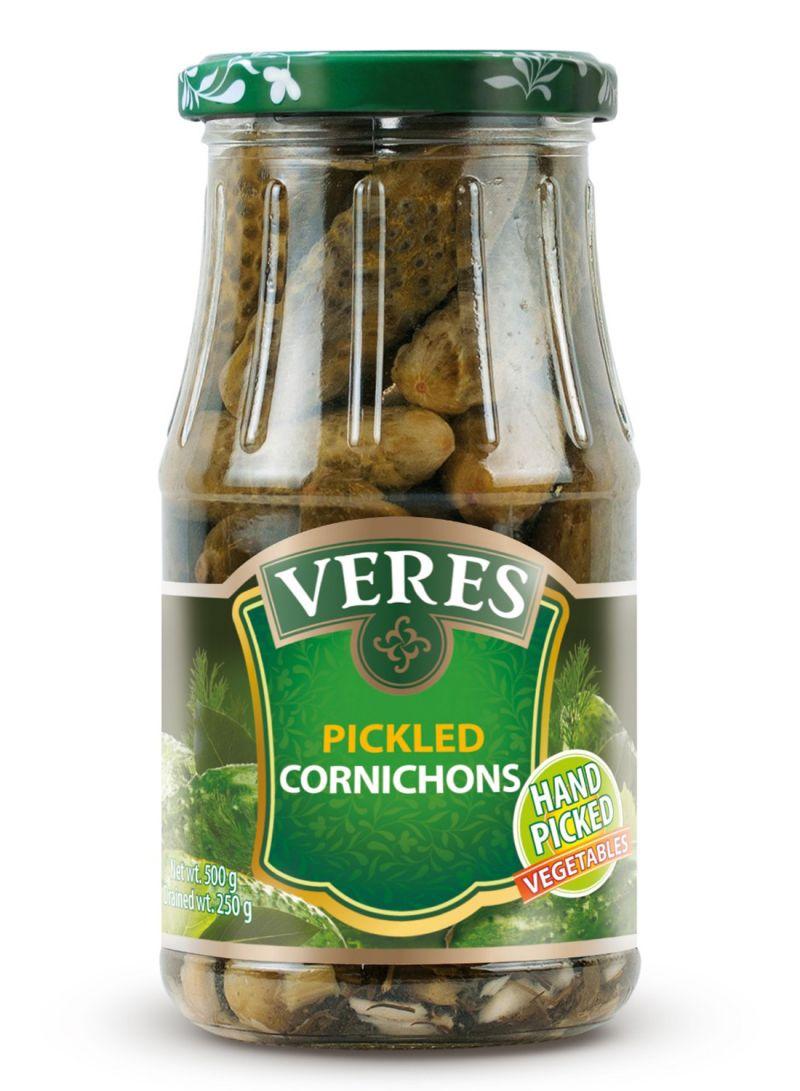 Veres Pickled Cornichons Jar 500G
