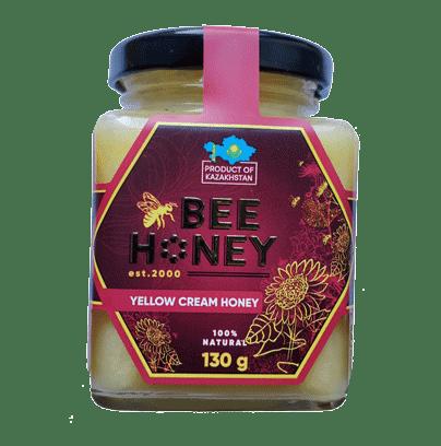Yellow Cream Honey Bee 130G
