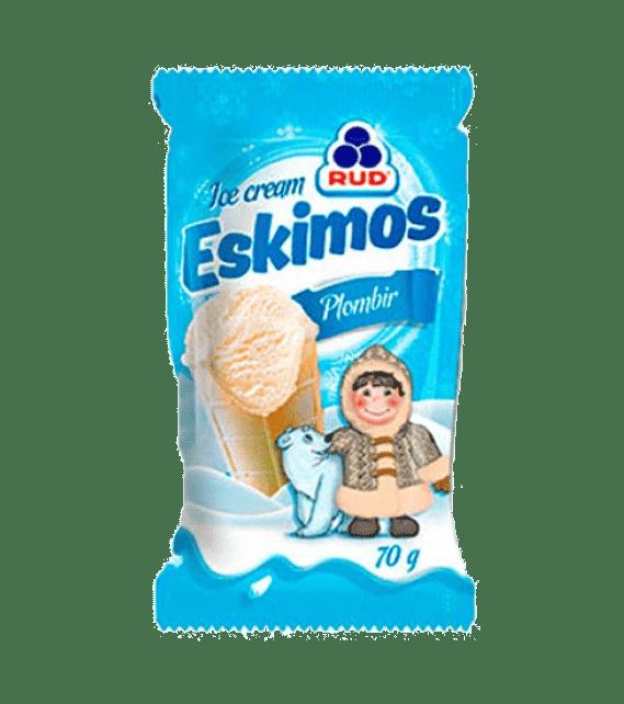 ESKIMOS ice cream  waffle cup plombir 80g/30