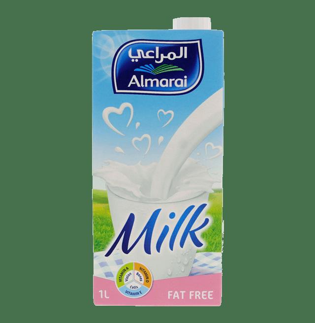 Al Marai Fat Free Milk 1L