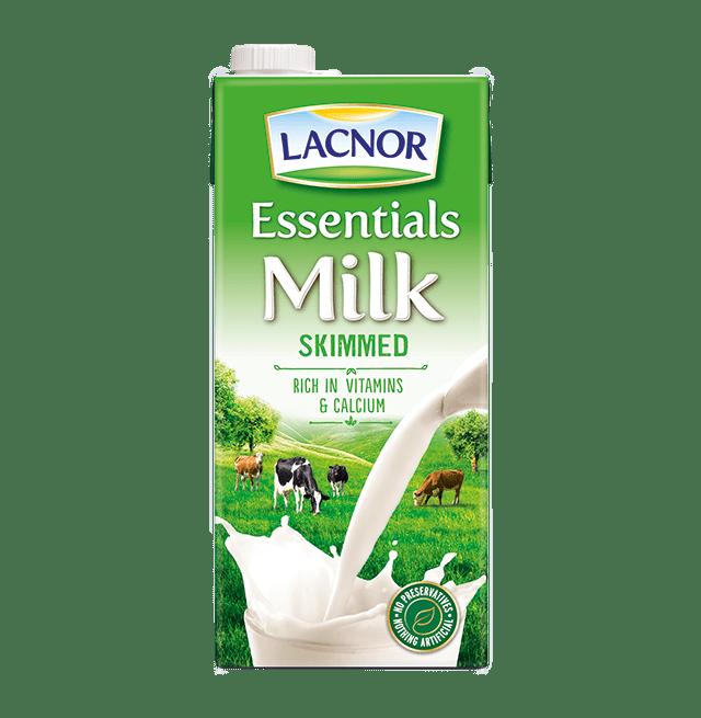 Lacnor Skimmed Milk 1l