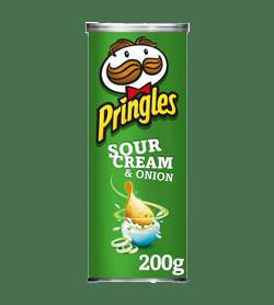 Pringles Sour Cream & Onions 200g