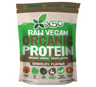X50 RAW VEGAN ORGANIC PROTEIN CHOCOLATE 1KG