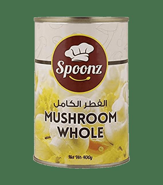 Spoonz Mushroom Whole 400g