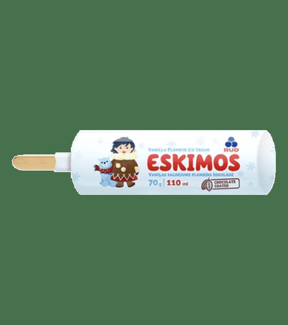 Eskimo `Eskimos` silver foil, 70g/40