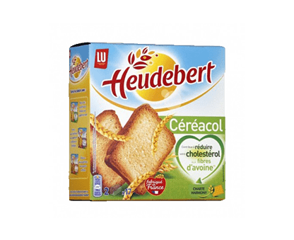 LU HEUDEBERT cereal rusks 280G