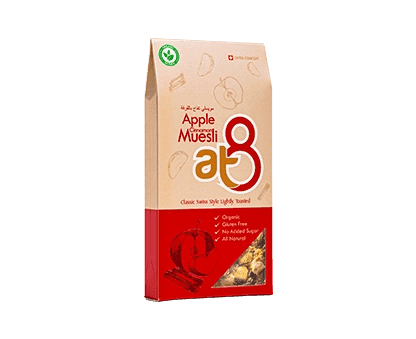At8 Apple cinnamon Muesli 55g