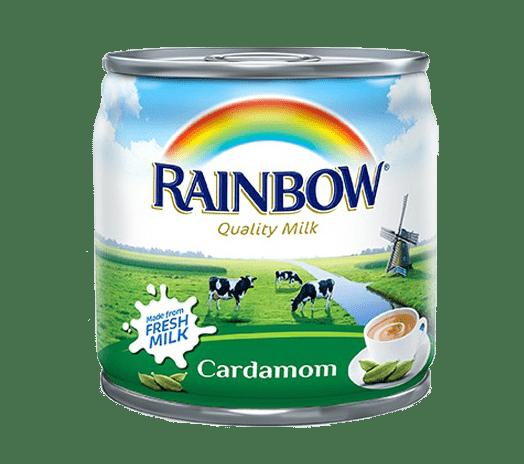 Rainbow milk cardamom