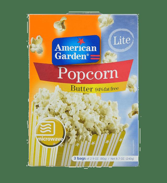 American Garden Popcorn Butter Lite 240g