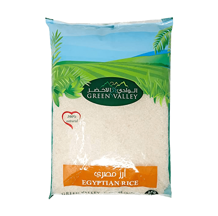 Green valley egyptian rice (5kg)