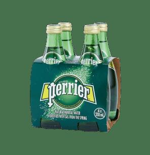 Perrier Sparkling Water Regular 4x330ml
