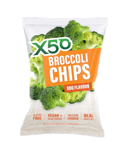 X50 BROCCOLI CHIPS BBQ 40G
