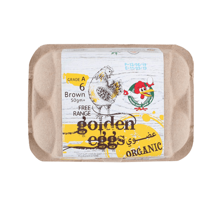 Organic Eggs - 6 pcs.