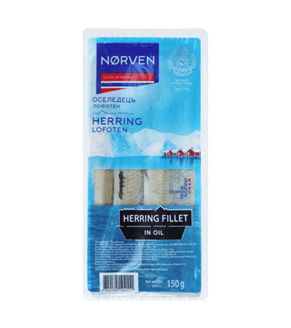 Herring fillet in oil 150g
