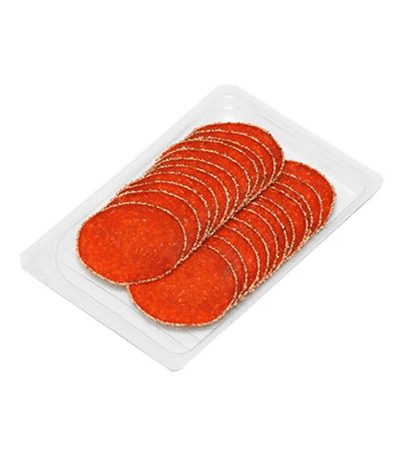 Turkey Salami coated with Pepper in slices (Double Line) 90g