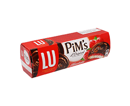 LU PIMS raspberry soft biscuit 150G