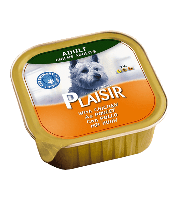 Plaisir Dog Food with Chicken 150g x1