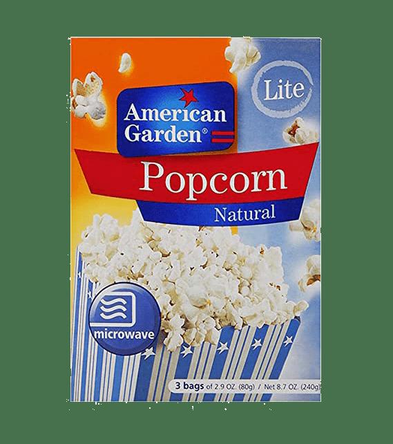 American Garden Popcorn Natural  240g