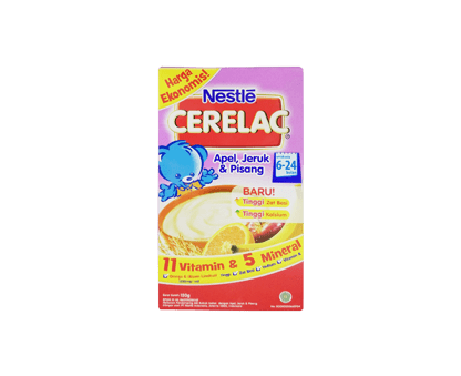 NESTLE Apel, Orange, Banana 120Gm