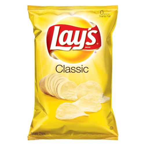 Lays Potato Chips Original trans fat 170g