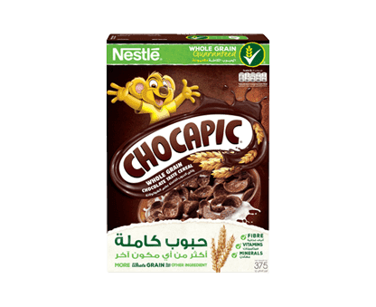 Chocapic Cereal Whole Grain Chocolate 375gm