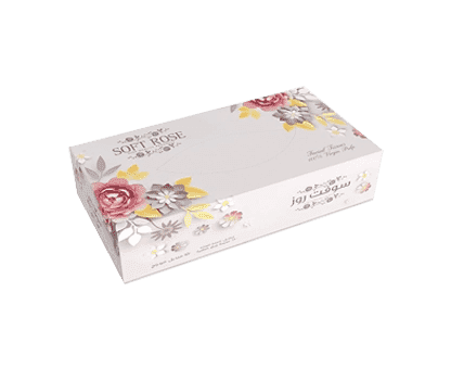 Soft Rose Tissue Box 200 Sheets 1*5