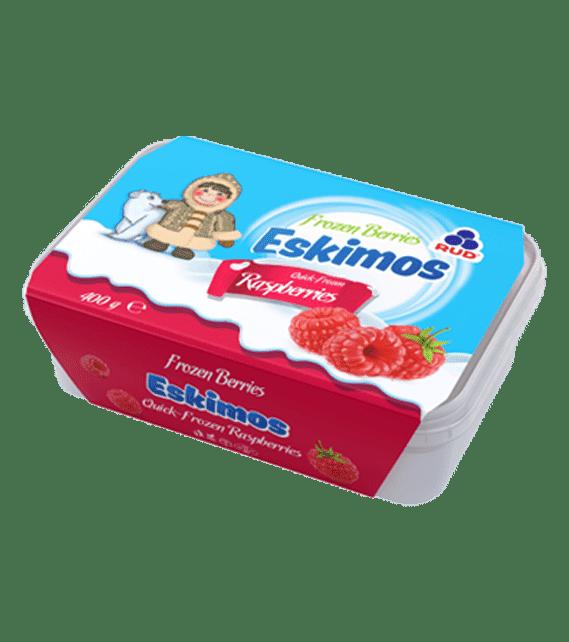 SKIMOS Quick-Frozen Raspberries (plastic tray) 400g