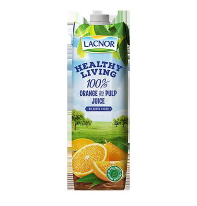 Lacnor orange with pulp 1l