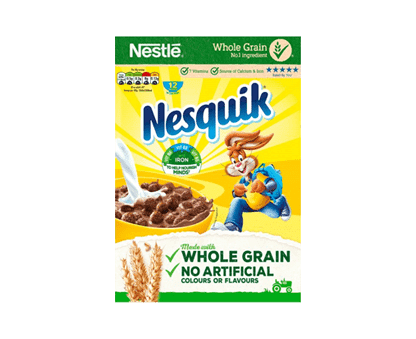 Nestle Nesquik - Wholegrain Breakfast Cereals 375g