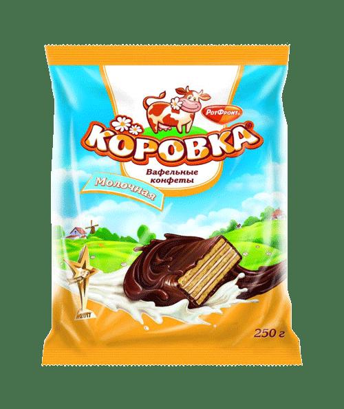 KOROVKA CHOCOLATE CANDIES 250G