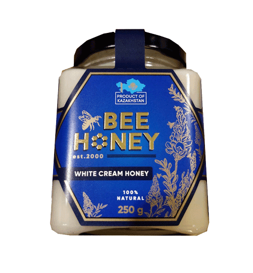 White Cream Honey Bee 250G