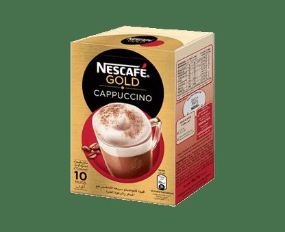 Nescafe Gold Cappuccino 10x17g