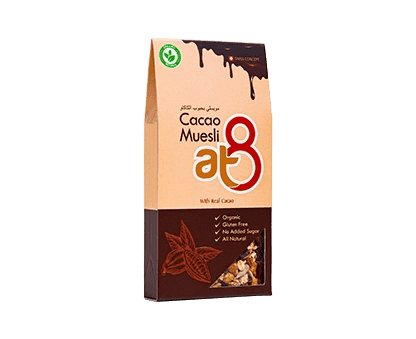 At8 Cacao muesli 55g