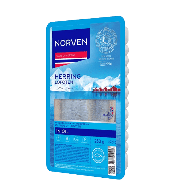 Herring in oil 250g