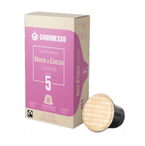 GOURMESSO COFFEE COCONUT 10 CAPS